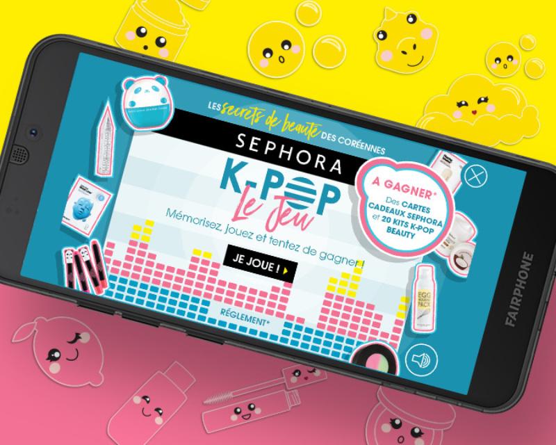 Sephora – K-Pop Beauty 1