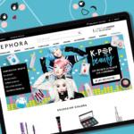 Sephora - Vitrine de l'animation K-Pop Beauty