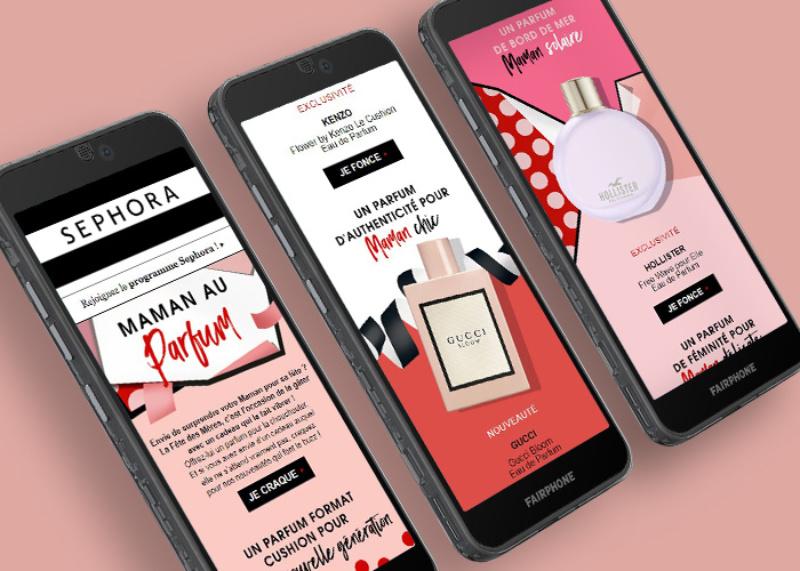 Sephora – Emailings responsives