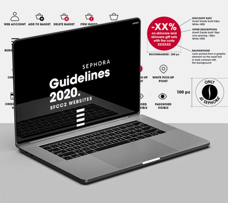 Sephora – Guidelines digitales